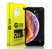 Protetor de tela para iPhone 11 pro máximo x xx 8 7 plus lg stylo 5 moto e6 vidro temperado filme celular filmes