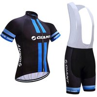 2021 Gigante Ciclismo Jersey Juego de manga corta Camisa de bicicleta BIB Shorts Traje Verano transpirable MTB Ropa de Bicicleta Uniforme de deportes K20042004