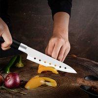 Coltello da cuoco unico in acciaio inox Coltello da cucina a martello Blade PP Ring 5 Giapponese Sushi SCIMARTAR SCIMORATORE CLIPER CLITTORE SFRUTTORE AFFRIZZATURA CHIAFPER COLTELLI DI CUCINA