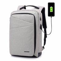 Rugzak Stijlvolle 15.6-inch Laptop Unisex Multifunctionele Casual USB Opladen Hoofdtelefoon Jack Travel Bag