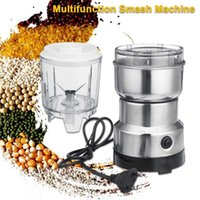 Electric Coffee Grinders 2-In-1 Grinder Kitchen Cereals Nuts Beans Spices Grains Machine Multifunctional Portable Blender Juicer