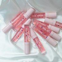 Model Lip Gloss Make up con farfalle Venditore per etichette private per il trucco Lipgloss