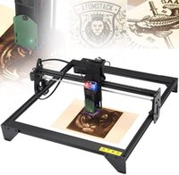 Printers ATOMSTACK A5 20W Laser Engraver CNC Quick Assembly 410*400mm Carving Area Full-metal Structure Fixed-focus Eye Protection