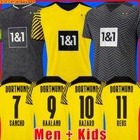 dortmund Borussia HAALAND REUS futbol forması futbol formaları BELLINGHAM SANCHO HUMMELS BRANDT erkekler + çocuklar kiti maillot de foot