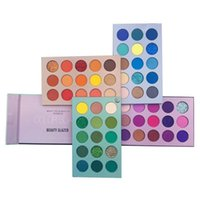 Eye Shadow Beauty Glazed Eyeshadow Palette Colorful Shadows Pallet Glitter Highlighter Shimmer Make Up Pigment Matte Pallete