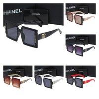 2021 Luxury Sunglasses For Men Women Pilot GG&#13CC SunGlasses UV400 Eyewear Metal Frame Lens