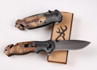 Wood Tactical Browning X50 Vouwen Man Pocket Messen Outdoor Gereedschap Gift Camping Mes EDC Survival Tool Outdoor Han IvLDQ