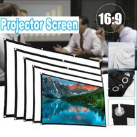 4K TV Home Theater 16: 9 Proiettore Proiettore Proiezione Proiezione Tessuto Panno Riflettente Tenda in poliestere per XGimi H3 H2 YG400 Xiaomi Beamer