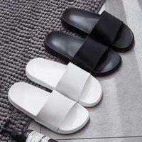 Slippers Fashion Summer Slides Women Non-Slip Flip Flops Eva Outdoor Beach Sandals Men Ladies Couple Lovers Shoes