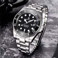 Pagani Design 2021 Mecânico WristWatch Marca de Luxo Homens Relógios Impermeáveis Negócios Assista Aço Inoxidável Automático Preto 43mm