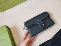 الأصلي 2021 حقيبة أزياء المرأة مصمم 100٪ حقيبة يد جلد طبيعي الكلاسيكية ديونيسوس سيدة حقائب الكتف مع صناديق