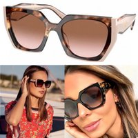 Designer MONOCHROME PR 15WS Womens luxury Sunglasses for women all black and two-tone frame pink brown fashion shopping glasses casual party style with box