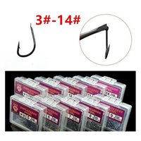 Sports & Outdoors1200Pcs 12Box 3-14# Izu Hook High Carbon Steel Without Hole Barbed Hooks Fishhooks Fishing Tackle E-012 Drop Delivery 2021