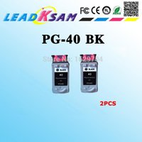 PG-40 Ink Cartridge Compatible For PG40 PG 40 Pixma MP140 MP150 MP160 MP180 MP190 MP210 MP220 MP450 MP470 Printer Cartridges