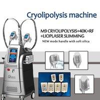 2020 Cryolipolysis Cavitação RF máquina Cryolipolysis Freeze Escultor Cryolipolysis Gordura Gordura Máquina de Cavitação / CE