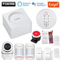FUERS G95 Wifi GSM Life Security System Tuya APP Alexa 433MHz Smart Home Burglar Alarm