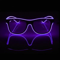 Christmas Gifts Glowing LED Glasses Novelty Luminous Toys Glow In The Dark Party Supplies Birthday Items Dj Equipment Decoration