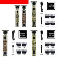 2021 USB Elektryczna kąpiel do włosów Clashers Akumulator Golarka Broda Trimmer Profesjonalne Mężczyźni Maszyna do cięcia Włosów Broda Barber 61 H1