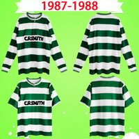 Celtic 1987 1988 Retro Soccer Jerseys 87 88 Vintage Football Hemden Mcinally Johnston Macleod ArchdeaCon Aitken Home Green