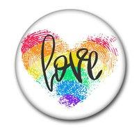 PRIDE RAINBOW Drapeau Métal Badge pour sacs à dos Icônes Gay Lesbiennes Bisexuelles Pansexuelles Pansexuel Symbole Asexual Symbole Broche GWE5565