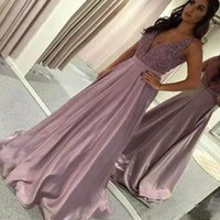 Women Sequin Prom Party A- line Floor Dress Sexy Pure Color B...