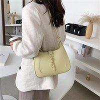 Evening Bags Leather Shoulder Crossbody For Women Fashion Underarm Simple Bag Female Sofe Pu Handbags Travel