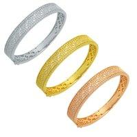 Bangle Women Bracelets Crystal Jewelry Arm Custom Friendship Designer Ladies Hand Bangles For Girls Fashion Charm Luxury Gold