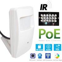 Cameras POE 940nm 3MP PIR IP Camera H.265 1296P   1080P Night Vision HD Mini Indoor LED IR Security System Video Surveillance ONVIF CCTV