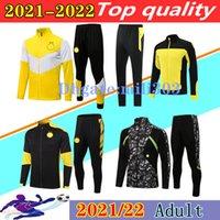 21 22 Borussia Giacca da calcio Set Tracksuit Survedement 2021 2022 Reus Haalland Bellingham Sancho Hummels Dortmund Football Sportswear Giacche da calcio