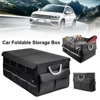Car Organizer Folding Trunk Storage Bag Multipurpose Collapsible Luggage Box Stowing Tidying Waterproof For Vehicle Accessories