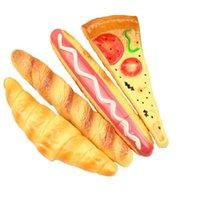 ボールペン4ピース韓国文房具ピザ犬パンペンクラフト冷蔵庫マグネットメーカーカワイイ事務用品