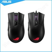 Mice Original Asus ROG Gladius II Aura Sync USB Wired   Wireless Optical Portable Office Mouse For PC Laptop