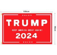 Trumpf Flagge 2024 Wahlflagge Banner Donald Trump Flagge Halten Amerika Toll wieder Ivanka Trump Flags 150 * 90 cm 13 Arten EEB5725