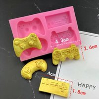 Baking Moulds Gamepad Controller Chocolate Silicone Mold Game Boy Gift Mould Sugar Craft Fondant Cake Decorating Tool Oven Available