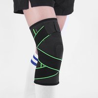 Elbow & Knee Pads Breathable Sports Football Basketball Leg Sleeve Calf Compression Support Protection