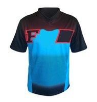 T-shirt de vitesse T-shirt estival Hauts à vélo à manches courtes pour hommes pour hommes VTT de Mountain Country Country Country Country Country T-shirts peut être personnalisé