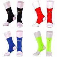 Apoio do tornozelo Proteção de esportes Pad de compressão Elastic Nylon Belt Taekwondo Muay Thai Football Basketball