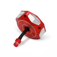 Casquette de réservoir de carburant à gaz pour TRX90 TRX250 TRX250EX TRX350 TRX450 TRX650 Foreman Red