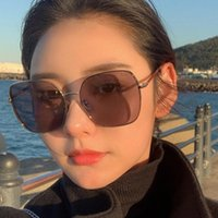 Newest Box With Style Online Celebrity Designer Adjustable Glasses Beach Square Women Sun Chain Sunglasses Fashion Ifgwe