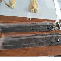 3 veya 4 Paketler Elibess Perulu Saç Örgü 8-32 inç Manikür Hizalı İnsan Saç Uzantıları Boyutlu Çift Atkı