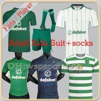 2021 2022 Celtic Soccer Jerseys Jerseys Player Version 21/22 McGregor Griffiths Edouard Brown Duffy Turnbull Christie Chemise de football Hommes Enfants Kit Uniforme