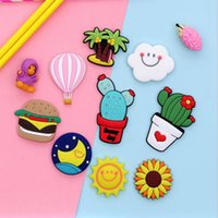 Fridge Carton Magnets PVC Colorful Magnet Sticker Plastic Refrigeator 3D Cute Sticker Home Furnishing Decorate JJA110
