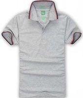 BOSS Дизайнер Polos рубашка мужчины Высококачественная вышивка логотип большой размер S-3XL с коротким рукавом летние повседневные хлопковые рубашки поло