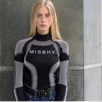 MISBHV HIP-HOP Streetwear одежда с длинным рукавом готический хлопок футболки капля женские косульки вязание топы женские футболки T200512