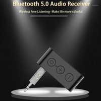 AUX Audio 3.5mm Wireless Bluetooth 5.0 Receiver Adapter Stereo Music With Mic Bluetooth Car Kit Reciever Handsfree1
