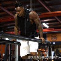 Mens Tank Tops Bodybuilding Hooded Gyms Fitness Workout Sleeveless Hoodie Sweatshirt Male Fashion Casual Cotton Vest Sportswear