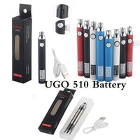 510 Thread Battery Vape Pen Cartridges Batteries Rechargeable Pens Carts Packaging UGO V3 Preheating Cartridge 650 mah Adjust Voltage USB Charger