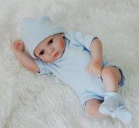 Bebe Reborn полное тело мягкие силиконовые младенцы 28см имитация реалистичные Reborn Baby Boy LOL куклы для детей подарок мальчик игрушка