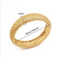 4 unids dubai joyería pareja pulsera cobre oro color novia charms bodillos para hombres mujeres joyería y1126