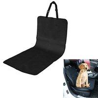 Cuscino per cani per cani Pet Copriso per sedile anteriore impermeabile Pad 600D Oxford panno PVC Coperchi neri